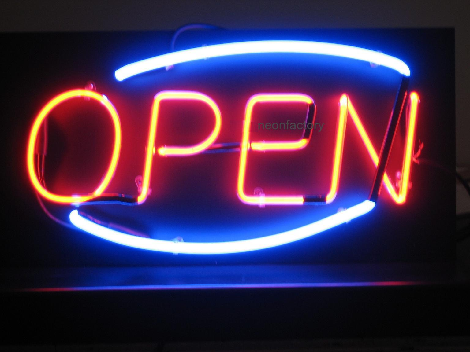 Deco Open Sign Neon Sign Factory